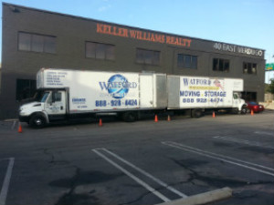 Watford Moving trucks with storage facility