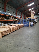 Storage materials in storage warehouse