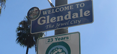 Moving to Glendale, California