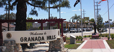 Moving to Granada Hills CA