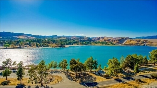 Visit the Castaic Lake after your move to Castaic, CA